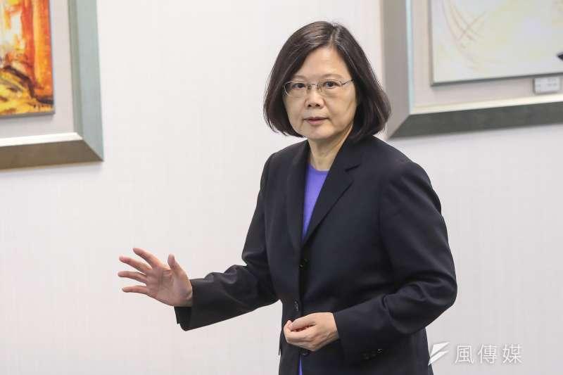 作者表示,自從蔡英文就任以後,臺灣和大陸的交往,已經成為僵局。(資料照,顏麟宇攝)