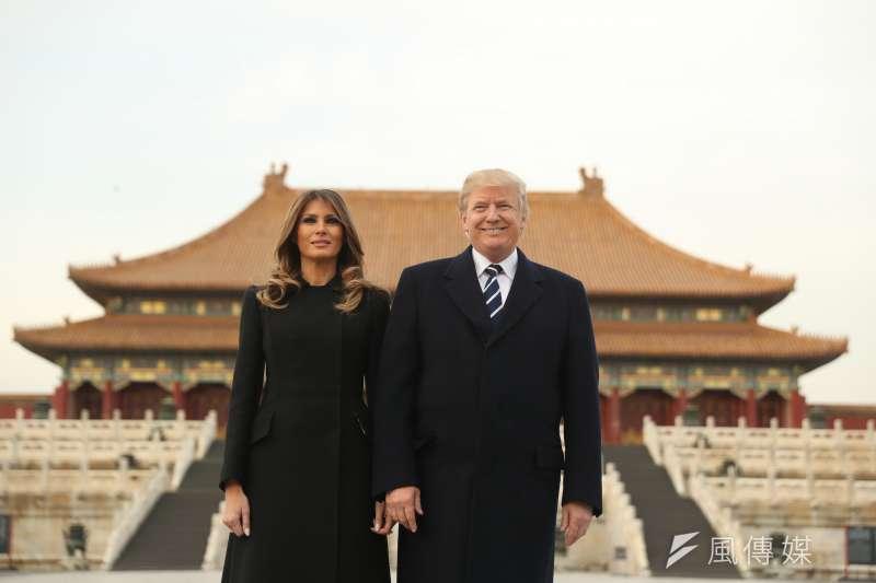 美國總統川普成為首位在紫禁城享用晚宴的外國領導人(AP)