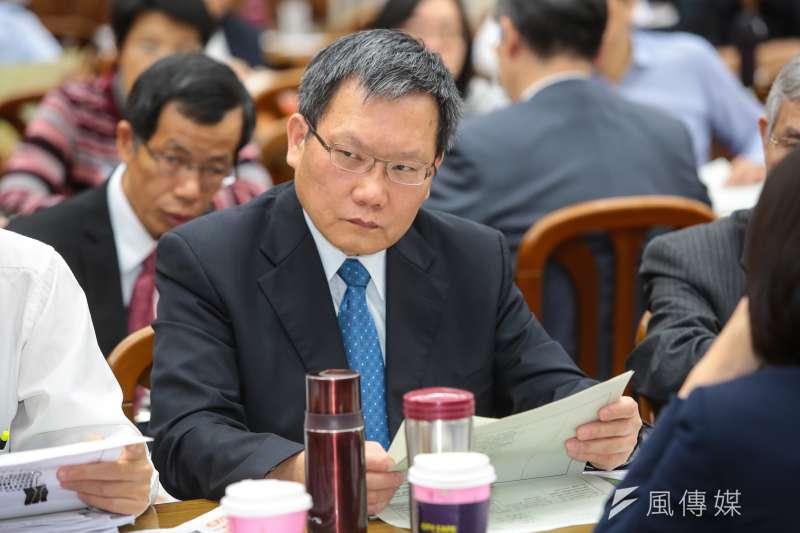 財政部次長蘇建榮表示,第一銀行的檢討報告,認為慶富案的發生,主要是貸後管理發生問題。(資料照,顏麟宇攝)