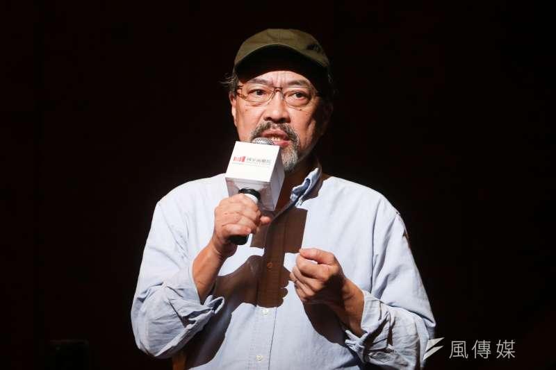 台大戲劇系創系20週年,請出前系主任、台灣名劇作家紀蔚然,搬演他最新劇作「莎士比亞打麻將」。(資料照,陳明仁攝)