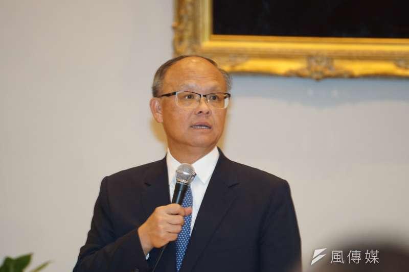 政委鄧振中說,政府仍持續與美國交換意見,積極爭取鋼鋁關稅豁免。(資料照,盧逸峰攝)