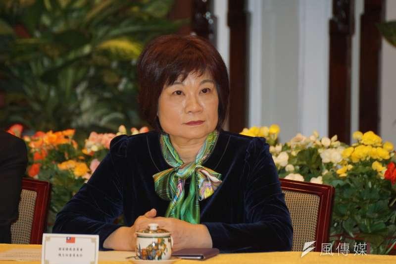 國發會主委陳美伶表示,台灣的中小企業因美國降稅而赴美投資的機會不大,短期看來減稅造成美國內需市場成長及民間投資,也有助台灣產品出口。(資料照,盧逸峰攝)