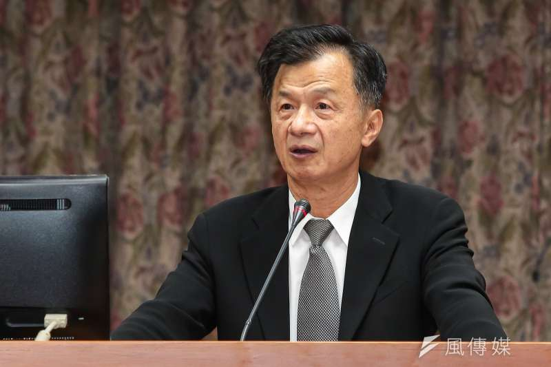 20171116-法務部長邱太三16日於立院司法法制委員會備詢。(顏麟宇攝)