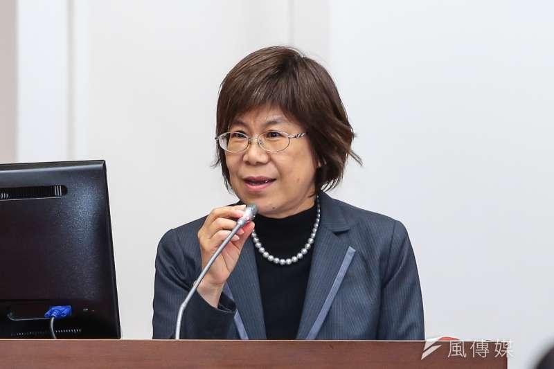 20171116-土地銀行董事長凌忠嫄16日於立院財政委員會備詢。(顏麟宇攝)