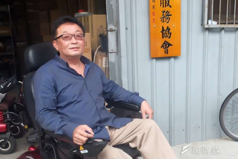 10多年來陳安宗從沒放棄過巨輪,理由很簡單:這是夥伴們在台北的唯一歸屬(謝孟穎攝)