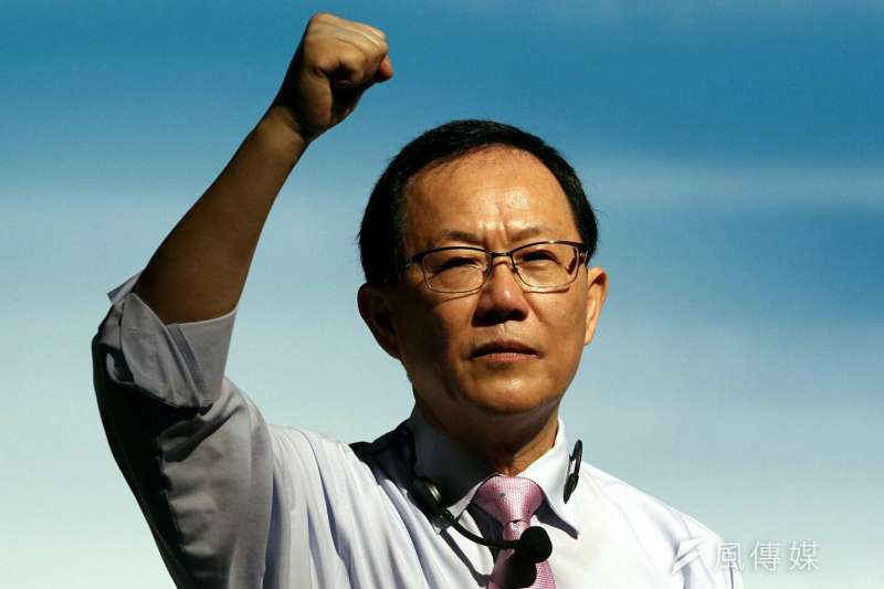 明年台北市長選戰,在泛藍可能人選中,前立法委員丁守中最有機會一搏柯文哲。(資料照,蘇仲泓攝)