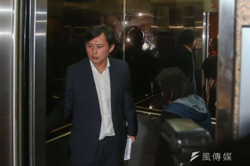 20171121-立法院,立委黃國昌。(陳明仁攝)