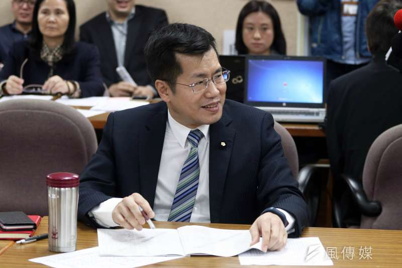20171122-立法院外交國防委員會,民進黨委員羅致政。(蘇仲泓攝)