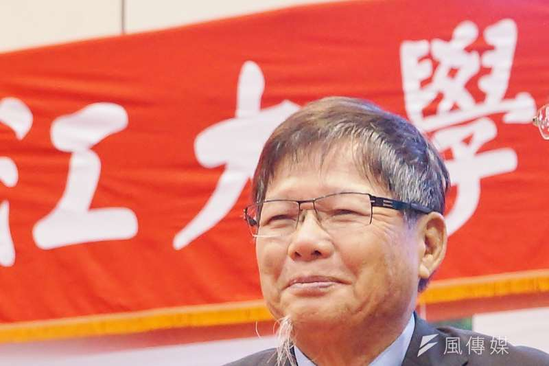 慶富集團董事長陳慶男。(盧逸峰攝)