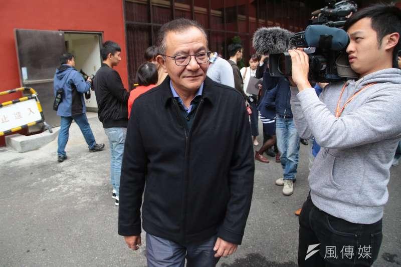 20171124-民進黨立委高志鵬24日於立院接受媒體聯訪。(顏麟宇攝)