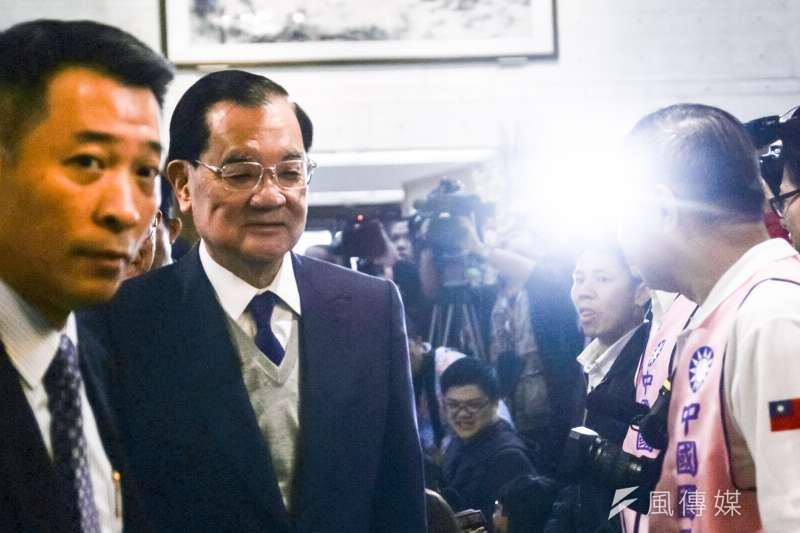 國民黨前主席連戰今(12)日赴中國大陸參訪,預計13日在北京與中共總書記習近平會面。(資料照,甘岱民攝)