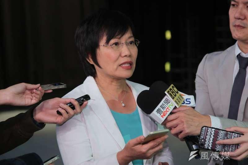 民進黨立委劉世芳因為市長陳菊出書引爆黨內派系舊怨而宣布退出市長提名初選。(顏麟宇攝)