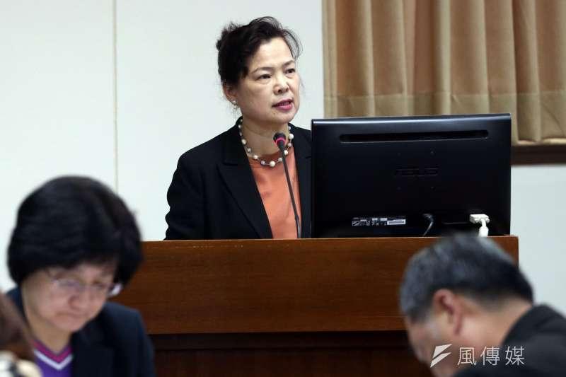 20171127-立法院經濟委員會,經濟部次長王美花。(蘇仲泓攝)