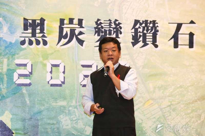 20171128-台北市長柯文哲出席南港區行動市政會議,社會局長許立民出席。(陳明仁攝)