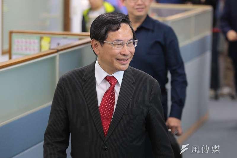 20171129-嘉義市長涂醒哲29日出席民進黨中執會。(顏麟宇攝)