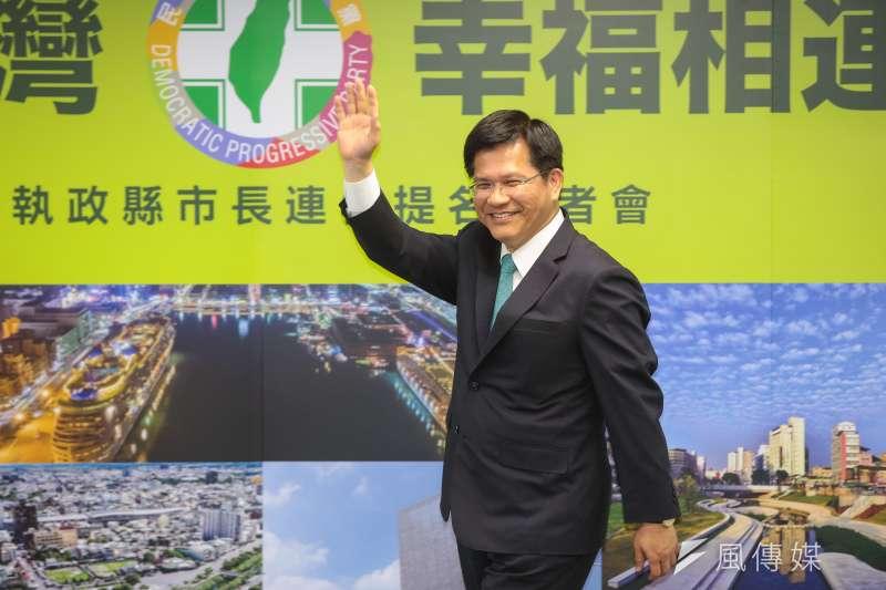 台灣指標民調針對台中市民所做「六都市長就任三週年施政滿意度調查」指出,4成5的台中市民眾滿意林佳龍的整體施政表現。(資料照,顏麟宇攝)