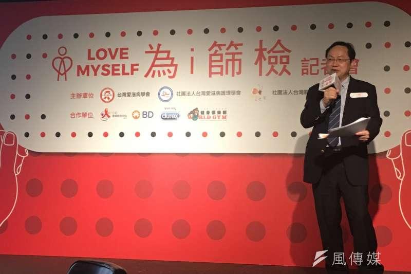 20171130-台灣愛滋病學會理事長林錫勳醫生。(曾詩婷攝)
