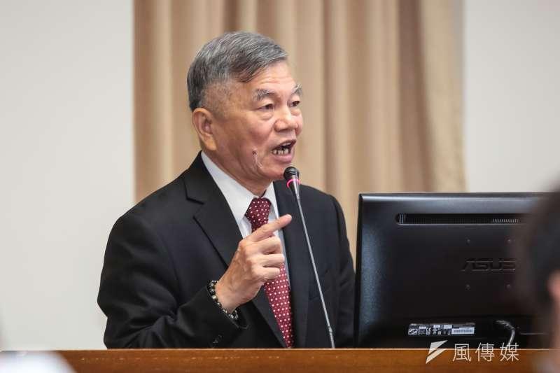 經濟部長沈榮津表示,台菲投保協定是台灣在新南向國家中,第一個完成簽署的投資保障協定。(資料照片,顏麟宇攝)