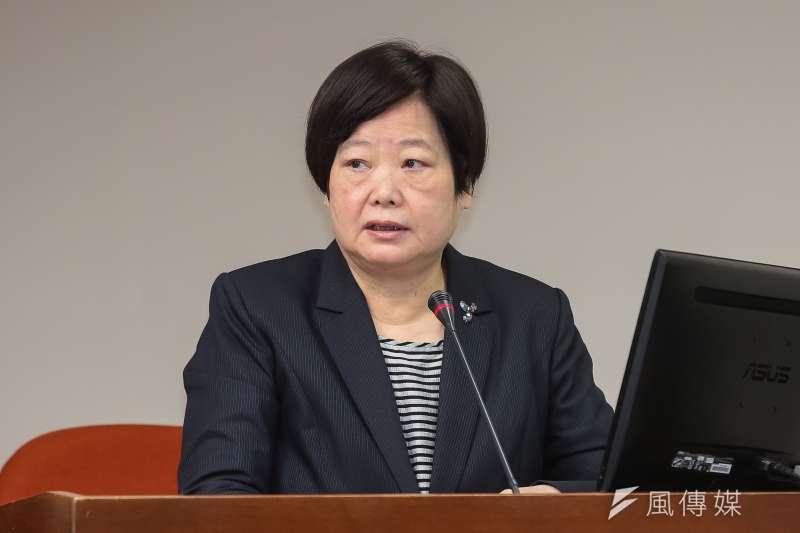 勞動部長林美珠表示,所謂例外調整的行政作為,絕非「籠統地」以單一行業別全面放寬。(資料照,顏麟宇攝)