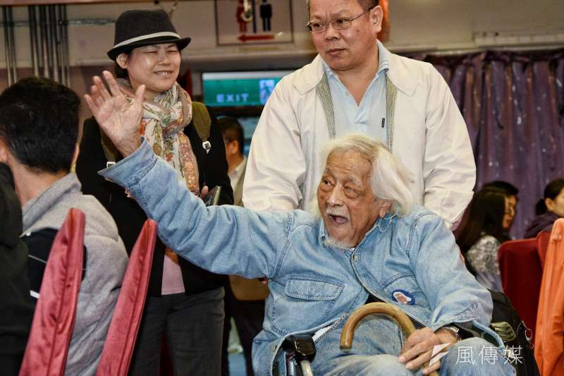 台獨大老史明九月二十一日辭世。(甘岱民攝)
