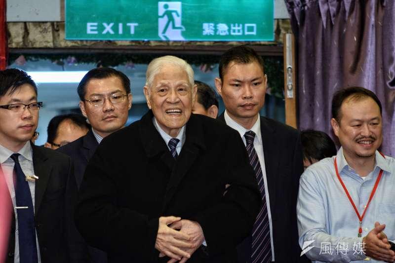 曾任李登輝基金會副秘書長的總統府參議郭昆文在臉書發文追悼前總統李登輝(見圖)。(資料照,甘岱民攝)