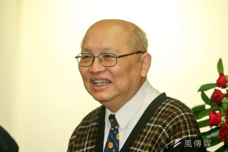 20171202-陳耀昌「獅頭花」新書發表會。(陳明仁攝)