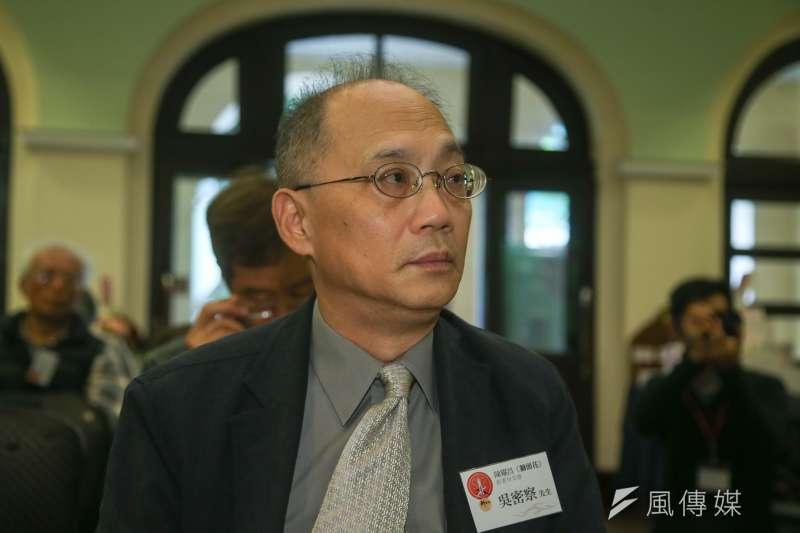 行政院13日表示,故宮博物院院長將由國史館館長吳密察出任。(資料照,陳明仁攝)