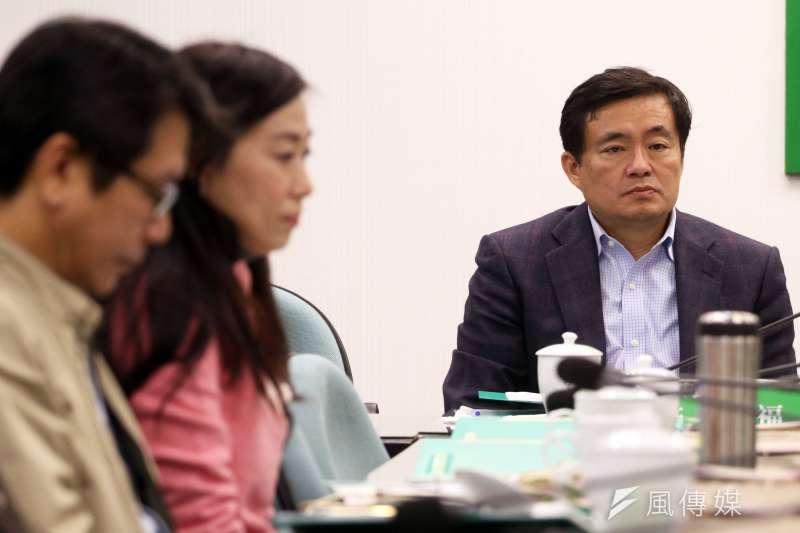 民進黨秘書長洪耀福。(資料照片,蘇仲泓攝)