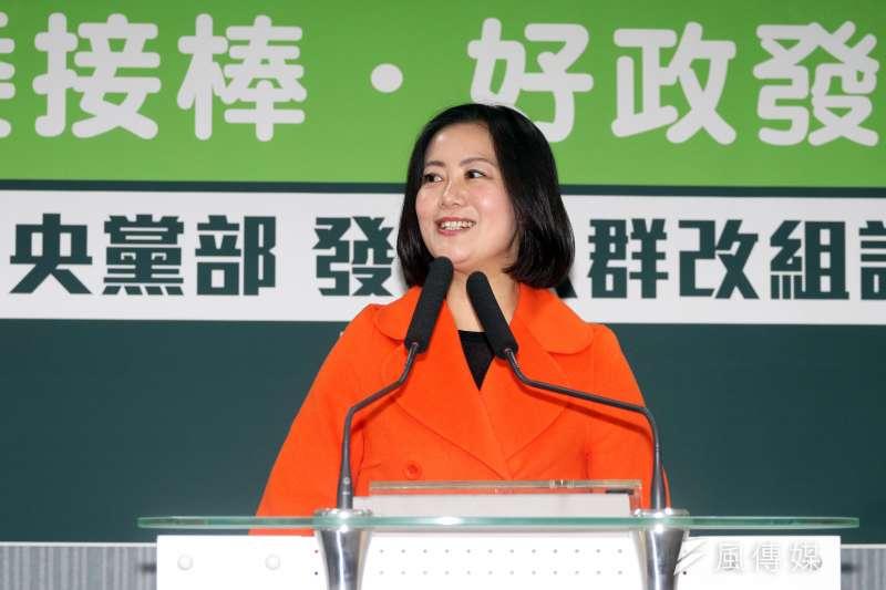 針對台北市長是否自提人選,民進黨立委及發言人吳思瑤表示,能否勝選是主要考量。(資料照,蘇仲泓攝)
