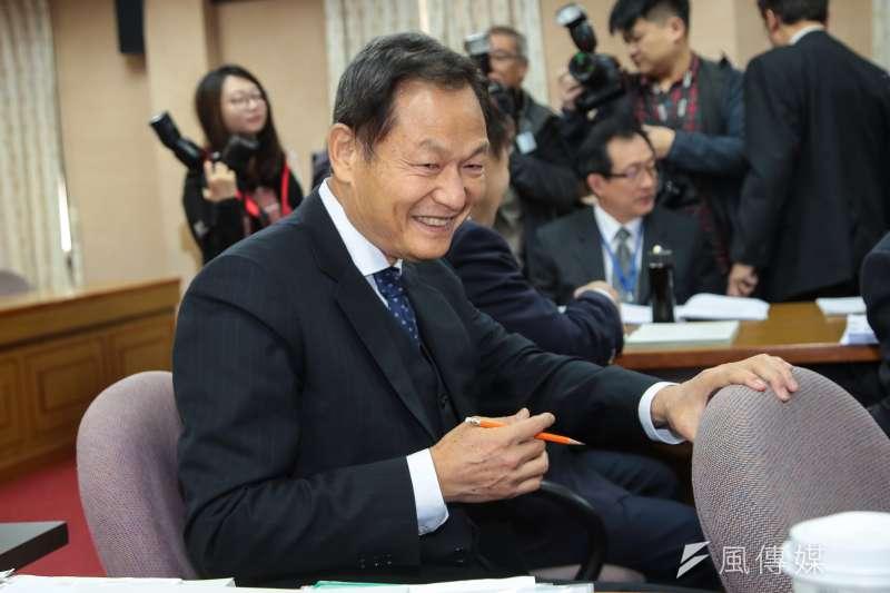 退輔會主委李翔宙表示,不會因為促轉條例而撤掉蔣公銅像。(顏麟宇攝)