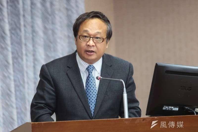 20171206-海基會副董事長柯承亨6日出席立院委員會。(顏麟宇攝)