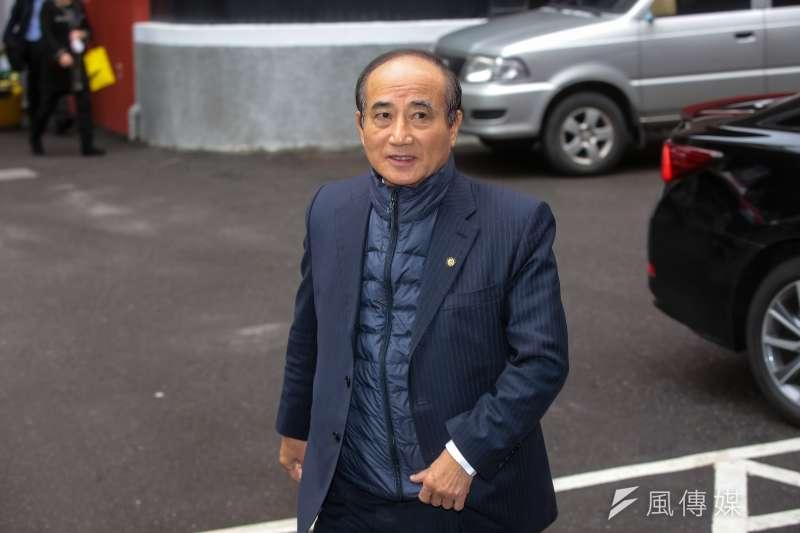 20171208-國民黨立委王金平8日出席國民黨團大會。(顏麟宇攝)