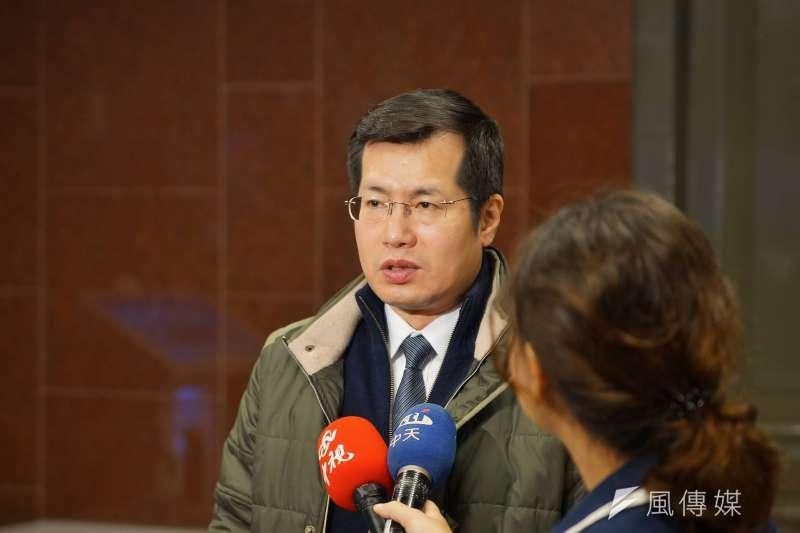 立委羅致政表示,「支持游錫堃參選,但黨中央無論最後做什麼決定,都全力支持。」(資料照,盧逸峰攝)