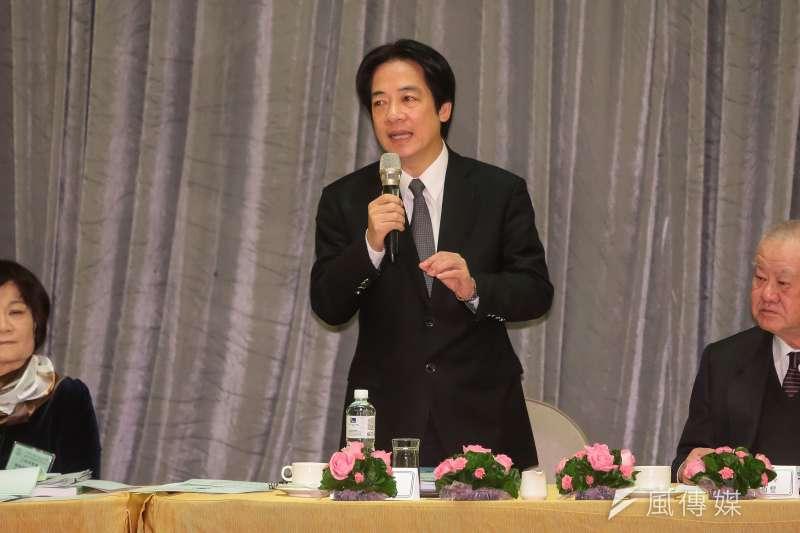 20171212-行政院長賴清德12日出席「中華民國工商協進會工商早餐會」。(顏麟宇攝)