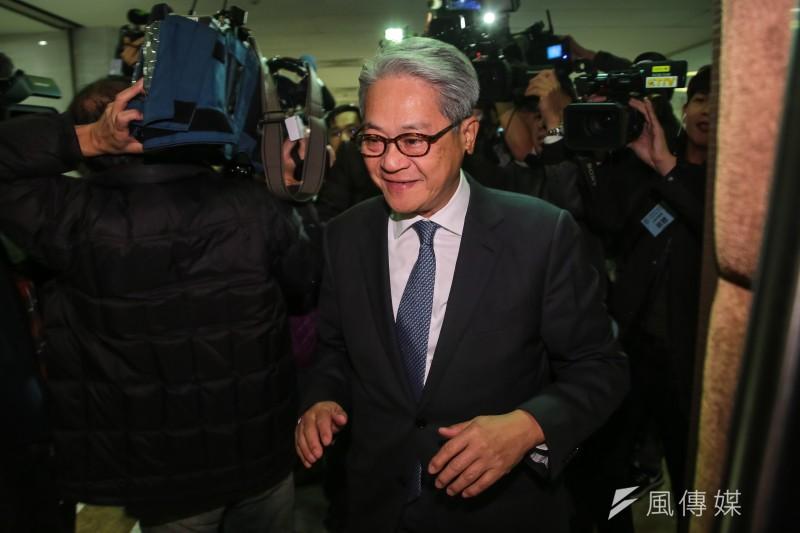 台新金控董事長吳東亮(見圖)表示,不曉得是否有員工中獎,消息都是從電視上聽來。(資料照,顏麟宇攝)