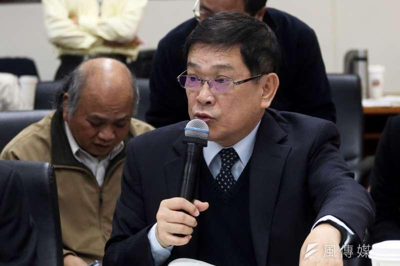 台電決定調漲電費,圖為台電董事長楊偉甫。(資料照片,蘇仲泓攝)