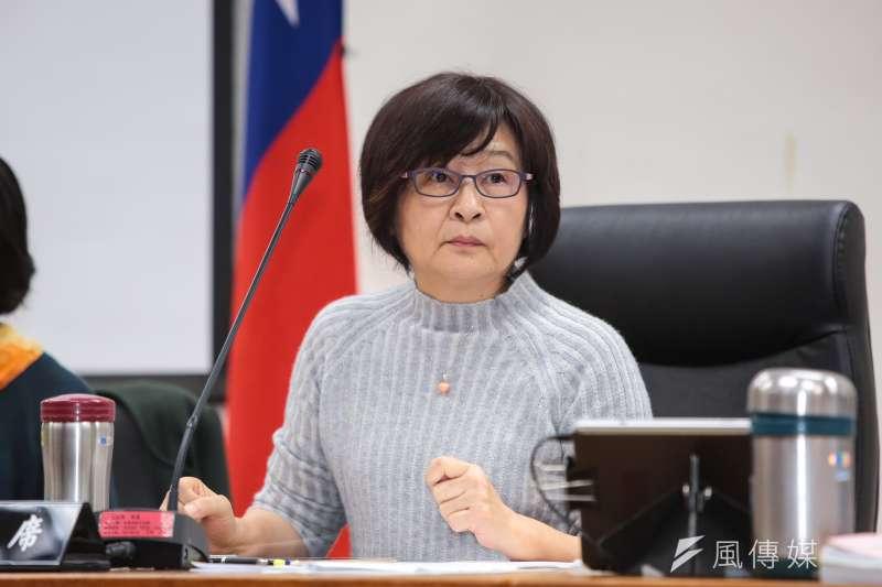 20171214-民進黨立委蘇治芬14日主持經濟委員會。(顏麟宇攝)