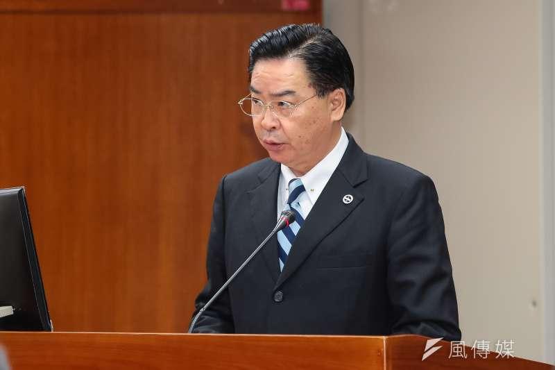 新任外交部長吳釗燮表示,台美貿易應以議題看待,不該以「前提」看待。(資料照,顏麟宇攝)