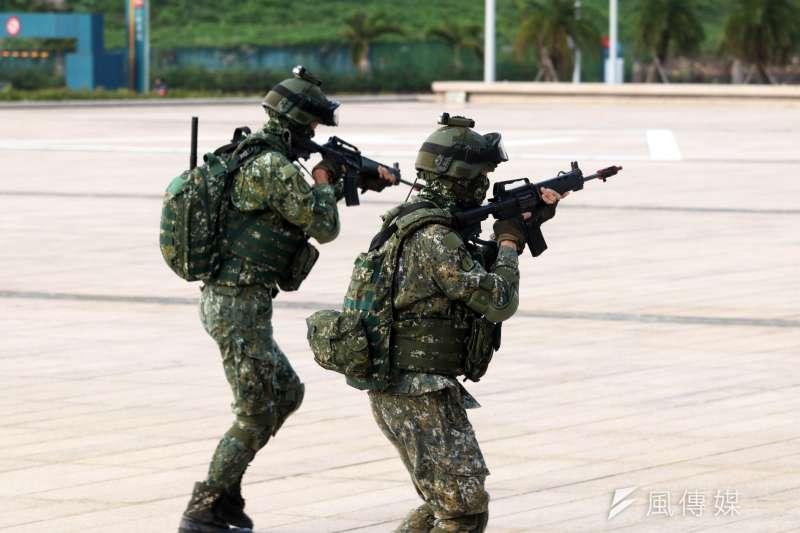 國防部允諾,將持續培育女性人力,深植基層戰力。(資料照,蘇仲泓攝)