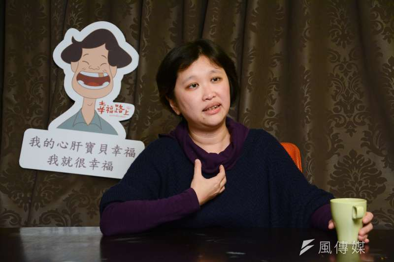 《幸福路上》導演宋欣穎談她拍攝過程的心路歷程。(陳明仁攝)