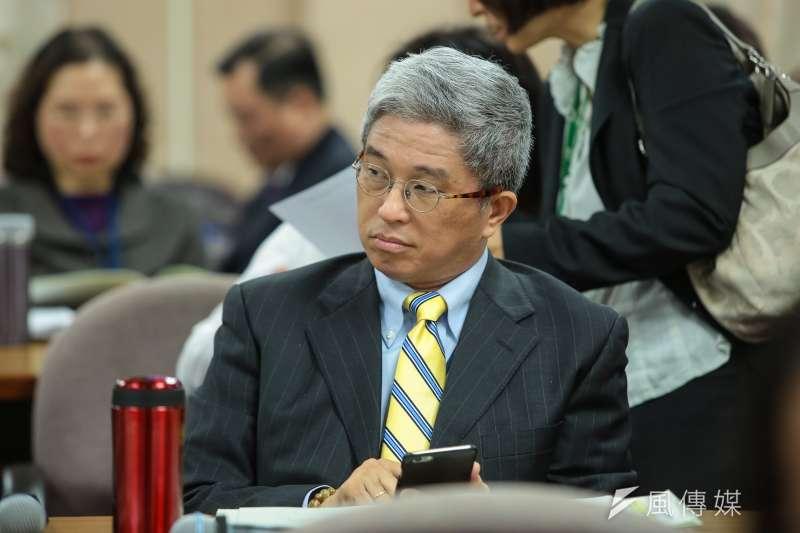 台灣民主基金會執行長徐斯儉在美表示,根據政大選研中心民調,如果中國武統台灣,七成年輕人願意為台而戰。(資料照,顏麟宇攝)