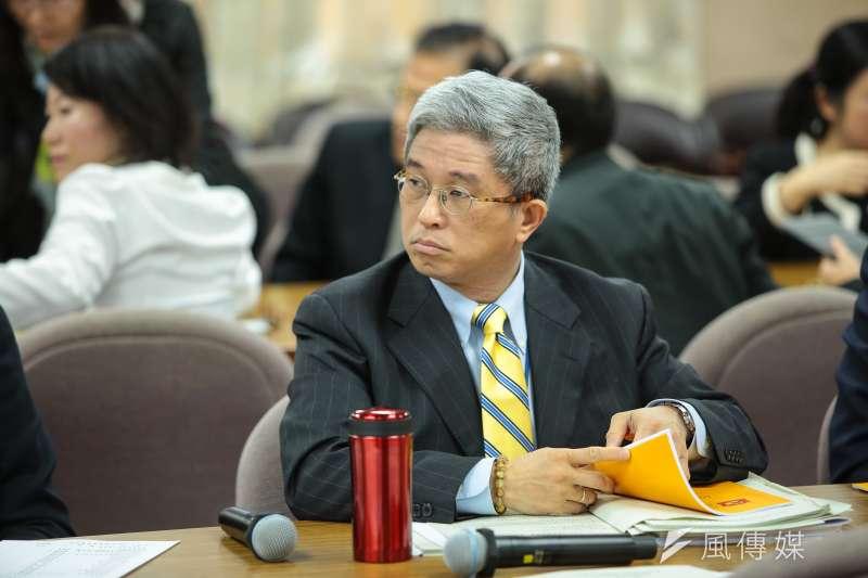 台灣民主基金會執行長徐斯儉訪美指民調台灣七成年輕人願意為台灣而戰。(顏麟宇攝)