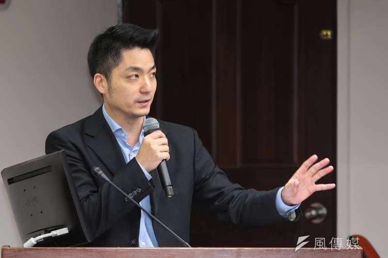 20171214-國民黨立委蔣萬安14日於衛環委員會質詢。(顏麟宇攝)