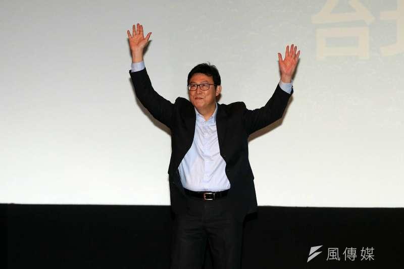 2017-12-17-姚文智宣布參選台北市長說明會06。(蘇仲泓攝)