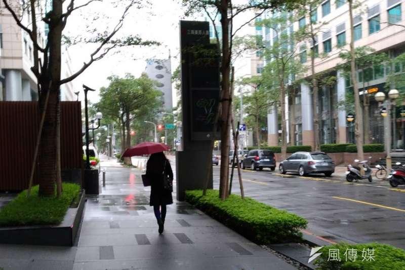 寒流來襲,北台灣濕冷(風傳媒)