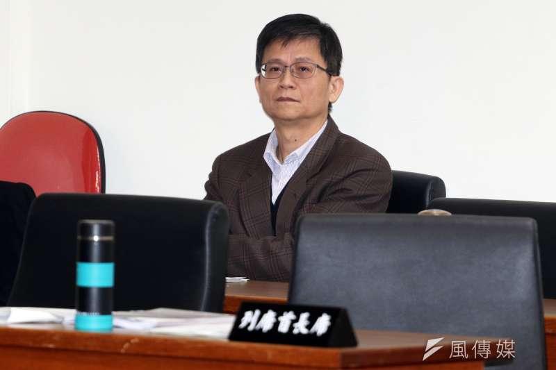 20171218-立法院經濟委員會,環保署副署長詹順貴列席。(蘇仲泓攝)