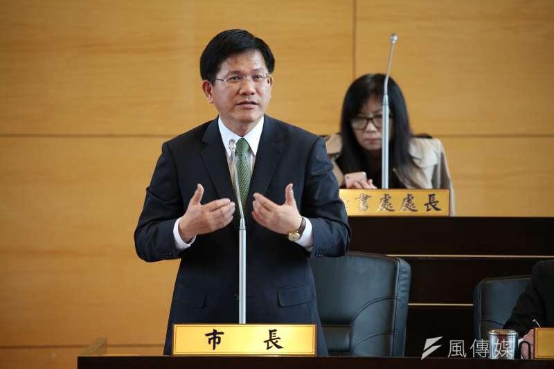 針對酒駕頻傳,台中市長林佳龍認為,酒駕車輛因成爲犯罪工具,應當場沒入。(資料照,曾家祥攝)