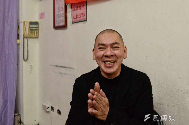 20171219-蔡明亮擔任人安基金會愛心大使。(甘岱民攝)