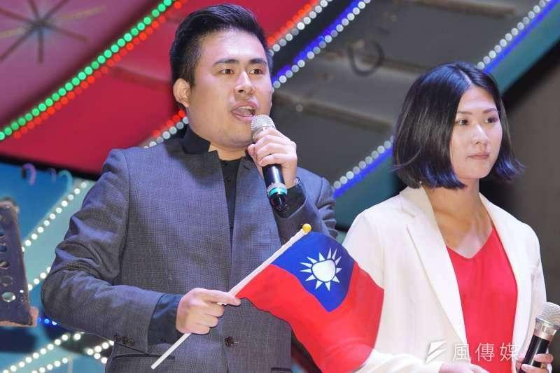 新黨發言人王炳忠日前才在臉書聲援涉入共諜案的中國學生周泓旭,過沒幾天就遭到檢警搜查。(資料照,盧逸峰攝)