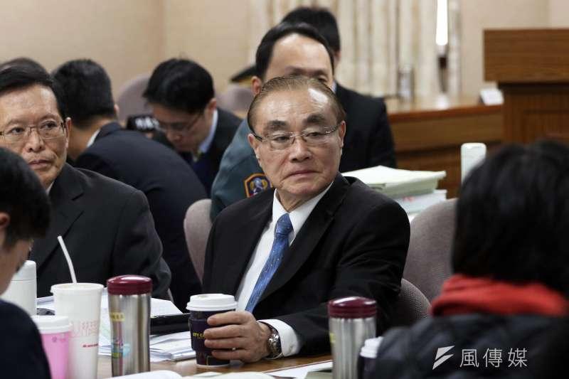 前國防部長馮世寬將接任退輔會主委一職,最快將於5日發布。(資料照,蘇仲泓攝)